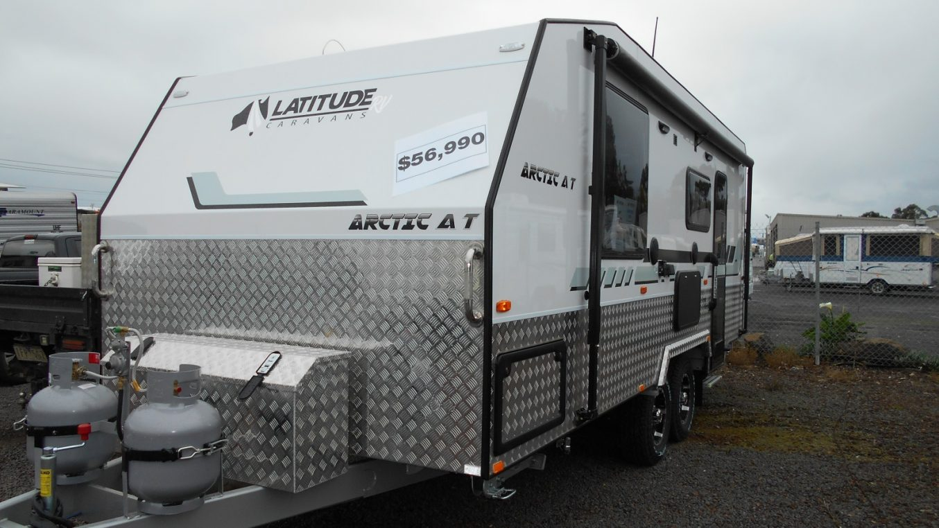 2019 Latitude Rv Arctic At 19 6 Caravan 56 990